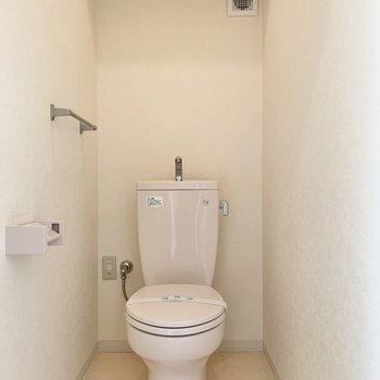 トイレはゆったりめ。