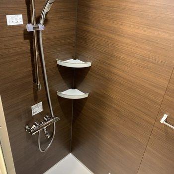 浴槽はないので、浴槽に浸かりたいときは温泉へ…