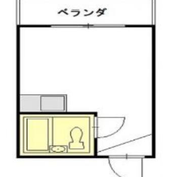 5帖のワンルームは最低限の家具だけで生活しましょうか。