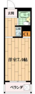 ハイコーポ京阪の間取り
