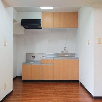 【DK】壁に沿ったI型キッチン