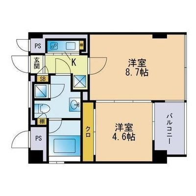 THE APARTMENT の間取り