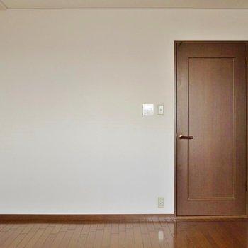 寝室はここで決まり♪(※写真は8階の同間取り別部屋のものです)