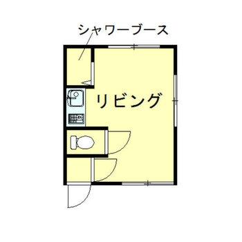 シンプル1ルーム