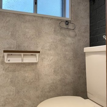 トイレにもしっかりデザイン性!