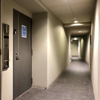共用部はホテルライクでとても綺麗。