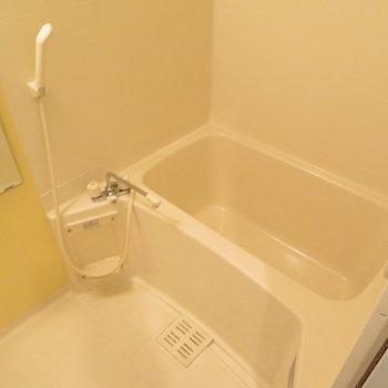体を洗う部分が広いと感じました※写真は8階同間取り・別部屋のものです。