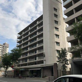 別府橋通り沿いの大きなマンション!