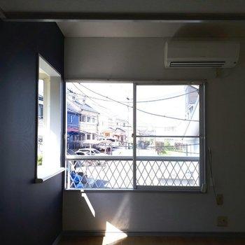コンパクトな5帖のお部屋※写真は6階の同間取り別部屋のものです