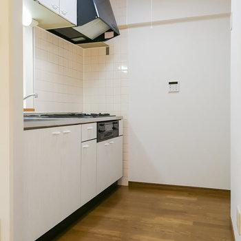 キッチンスペースもゆとりがあります。