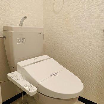 トイレはウォッシュレット♪