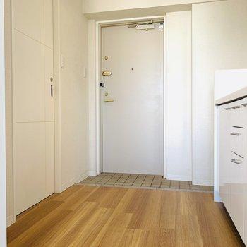 キッチンのスペースもしっかり確保されています。
