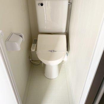 トイレはウォシュレット付いてます。