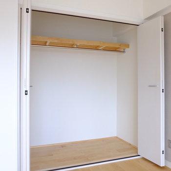 押し入れをクローゼット化しました!※前回工事したお部屋の写真です