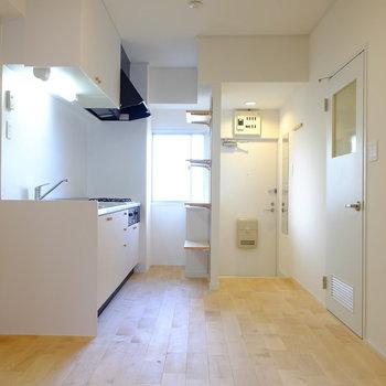 キッチン周りはこんな感じ※前回工事したお部屋の写真です。