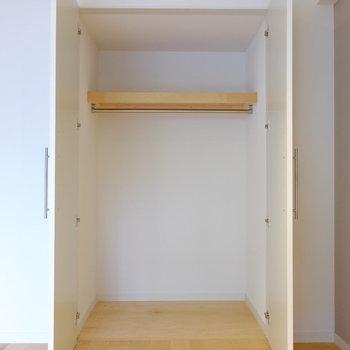 クローゼットも新設されます。※前回工事したお部屋の写真です。