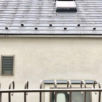眺望はお隣さんの屋根