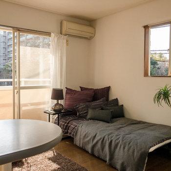 日当たりの良い角部屋のお部屋です。