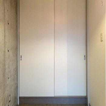 サニタリーは両サイドパーテーションで隠せます。