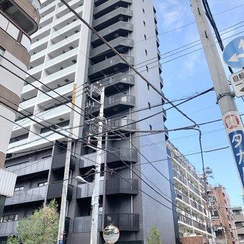 14階建ての5階になります