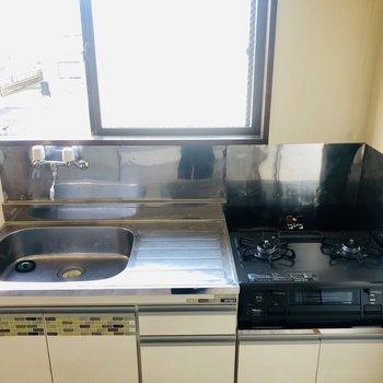 【DK】広いシンクと調理スペースが魅力的