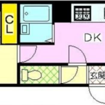 寝室とキッチンをわけられますよ!