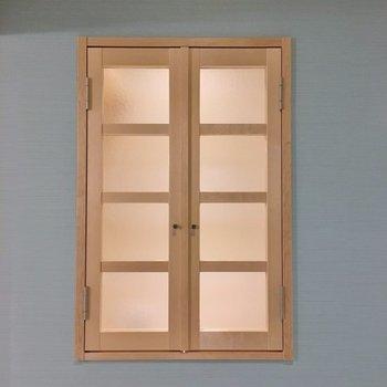 なんだか可愛い小窓♡