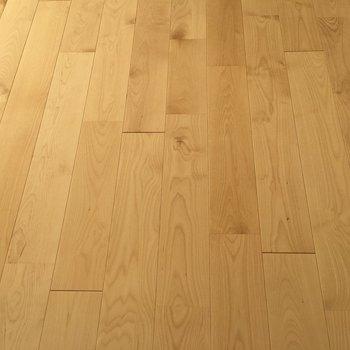 明るい無垢床が素敵すぎる!