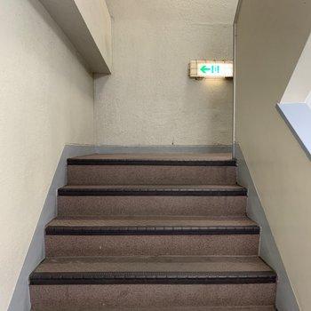 階段頑張ってください!