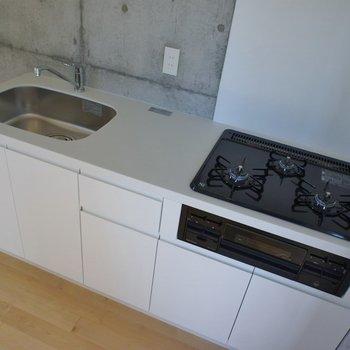 調理スペースもしっかり確保できます!!