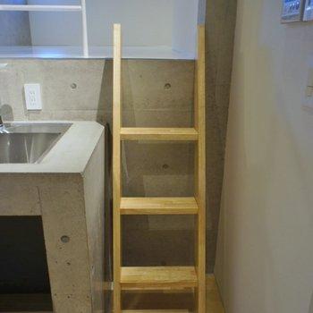 はしごを上ると、、、。