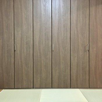 和室だけどゴテゴテ過ぎないのが心地よい〜!