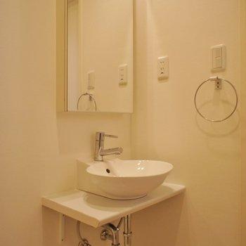 お洒落な洗面台♡※写真は同タイプの別室。