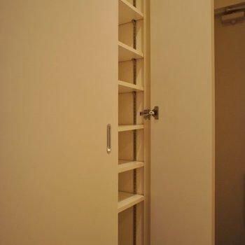 たっぷり収納ですよ♩※写真は同タイプの別室。