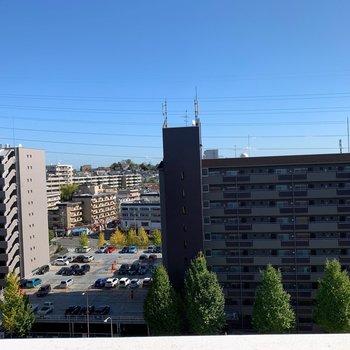 さすが10階、圧巻の眺望