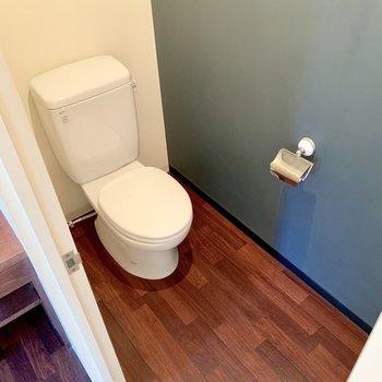 トイレの雰囲気も良し。