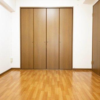 洋室】大きなクローゼットがある部屋、いいですね♪