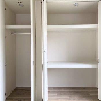 収納はタップリです!和室、(※写真は2階の同間取り別部屋のものです)