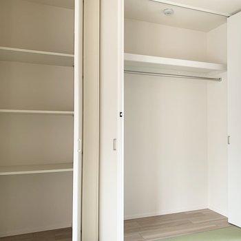 和室にもこんなに。(※写真は2階の同間取り別部屋のものです)