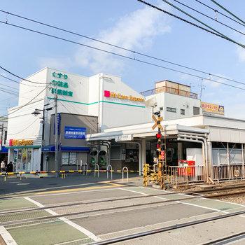 駅前には美味しそうな飲食店が立ち並び、賑わっていましたよ。