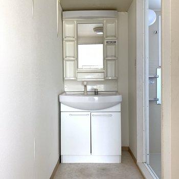 洗面台も使いやすそうですね!