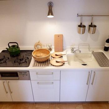 【イメージ】キッチンは3口グリル付きの新品に!
