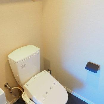 トイレもウォシュレット付き※写真は似た間取りのものです