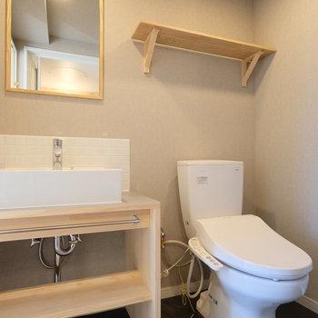 洗面所とトイレは隣通しになります