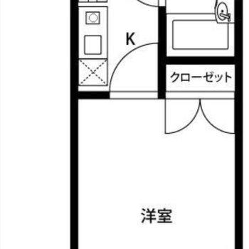 設備をギュッと、居室を広く