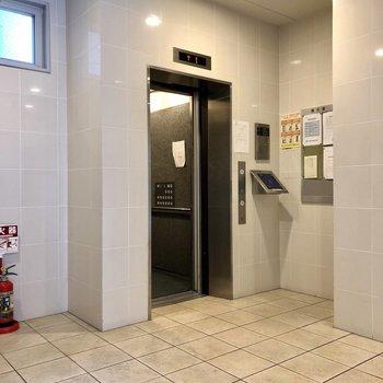 エレベーターにもオートロック付き!