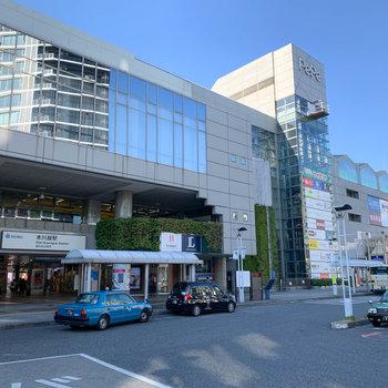 西武新宿線の始発駅〈本川越駅〉商業ビルも入った大きな駅です。