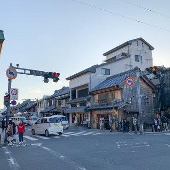 観光地の〈小江戸川越〉も、ほど近くです。