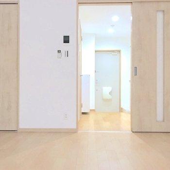 お部屋には収納が1箇所あります。※写真は2階の同間取り別部屋のものです