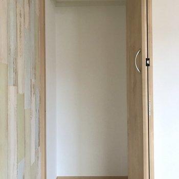 収納は洋室に1箇所。※写真は2階の同間取り別部屋のものです